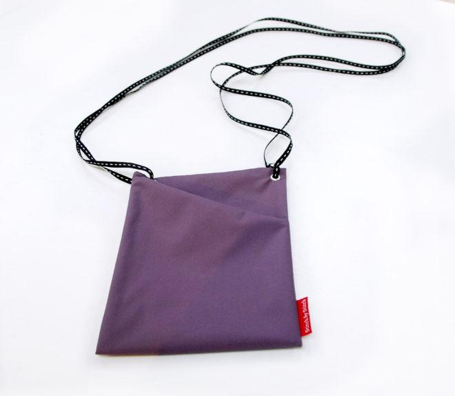 virenresistente Tasche in lila